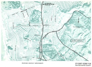 Proposed Highway Improvements (Daly City, 1962)
