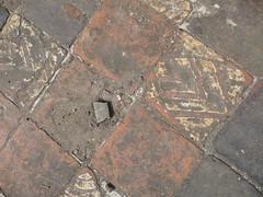 Floor tiles in the nave P1450835