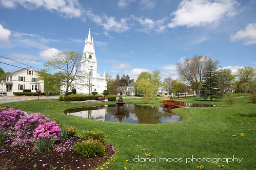 Library Park in Bath, Maine - a gorgeous spot!