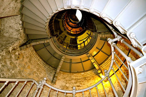 Westport Lighthouse Stairs