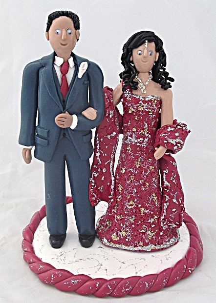 Asian Bride And Groom Wedding Cake Toppers  Flickr -4507