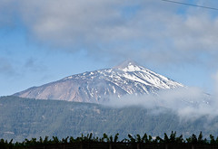 Mount Tiede from Finca Romera