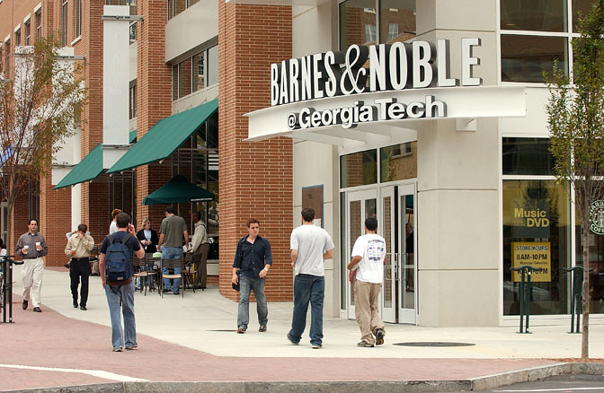 Barnes And Noble Bookstore Exterior Of The Barnes And Nobl