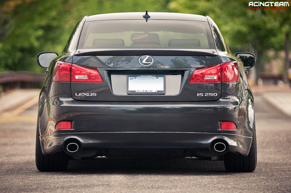lexus is250 awd staggered. Black Bedroom Furniture Sets. Home Design Ideas
