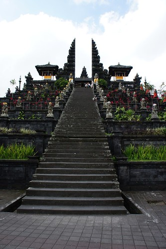 Mother Temple of Besakih in Bali, indonesia