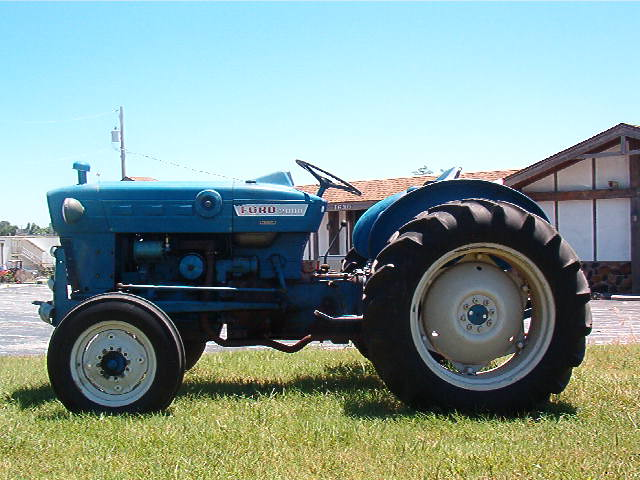 Side Picture Of Tractor : Left side view of ford tractor flickr photo sharing
