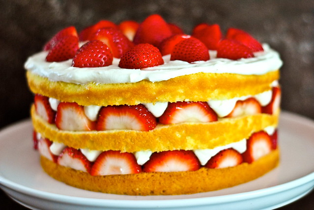 strawberry chiffon shortcake | Flickr - Photo Sharing!