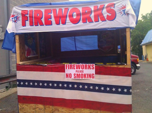 Fireworks Stand, 2300 Block of MLK Avenue SE