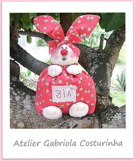 ♥♥ coelha porta chocolates ♥♥