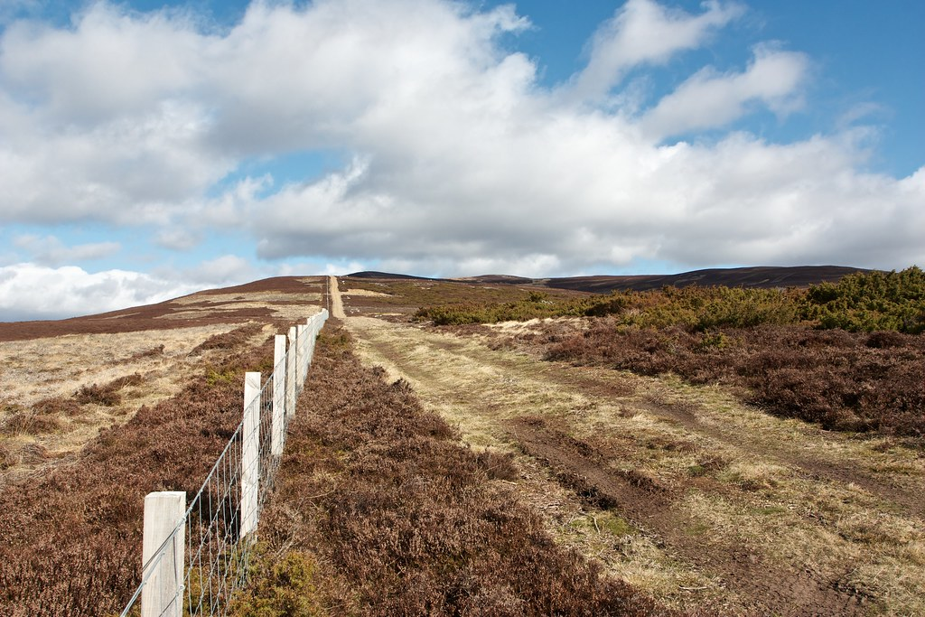 The track to Cairnagour Hill