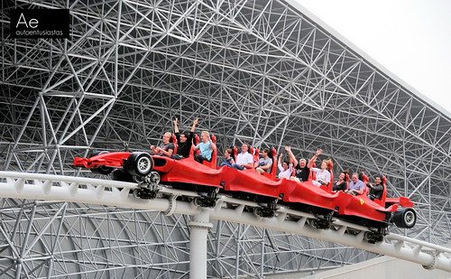 Formula Rossa world's fastest roller coaster
