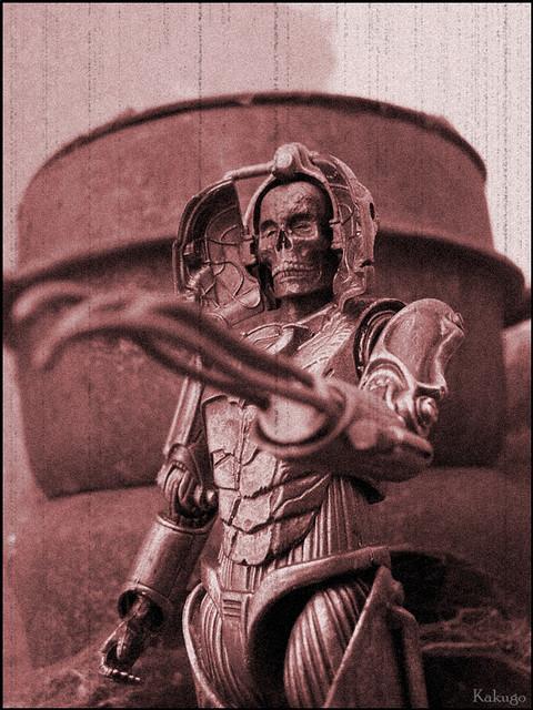 Doctor Who : Pandorica Guard Cyberman