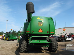 asphalt, machine, vehicle, agricultural machinery, harvester, tractor,