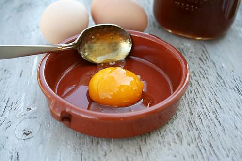 Huevo Con Miel