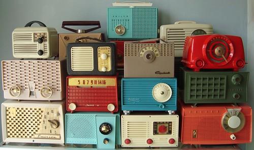 Vintage Radio Display