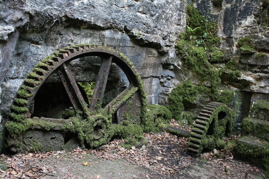 Fábrica de pólvora abandonada