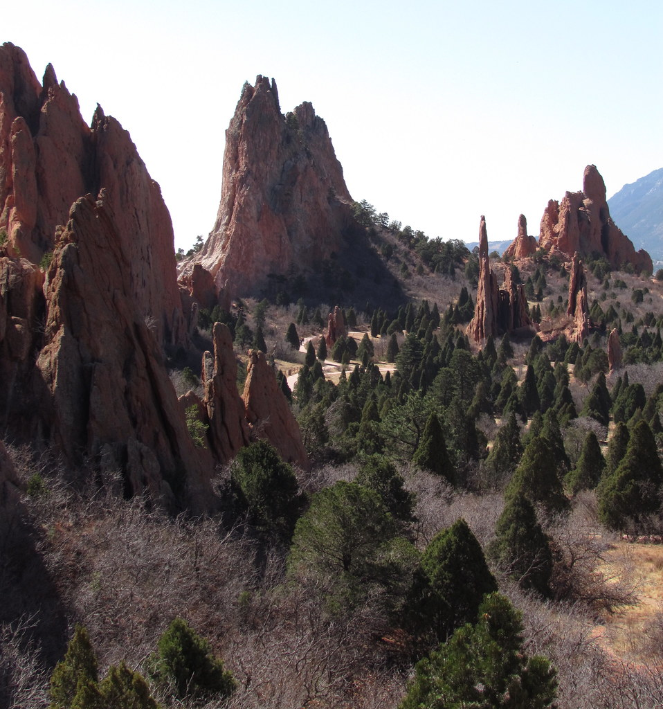 South Gateway Rock Garden Of The Gods Park Colorado Spri