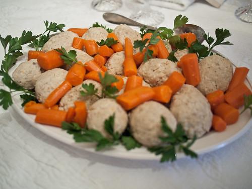 Passover Seder 5771 - Gefilte Fish