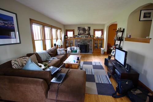 Wide Angle House Tour – Living Room