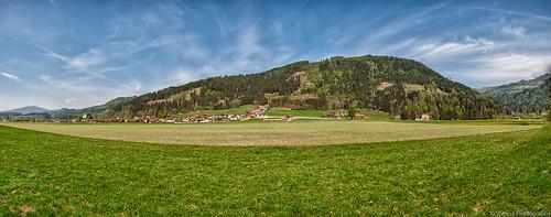 Mt. Landschnig Panoramic Shot