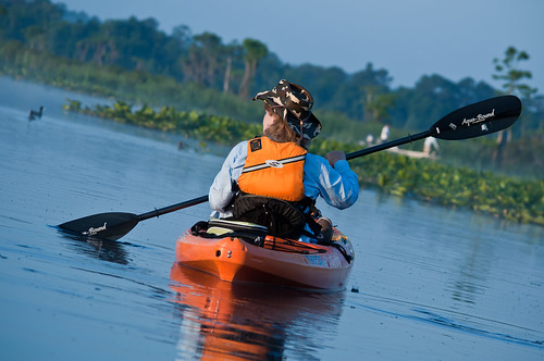 florida kayaking lakerousseau