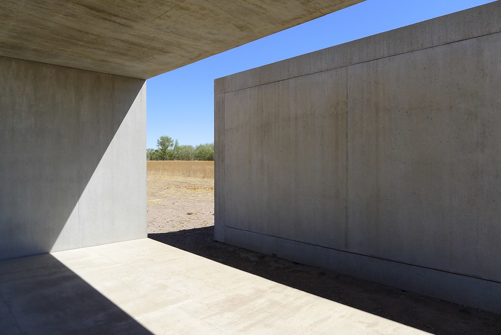 Chinati Foundation - Donald Judd Concrete Installations