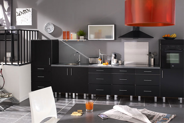 cuisine quip e noire mod le design mat nuoro flickr photo sharing. Black Bedroom Furniture Sets. Home Design Ideas