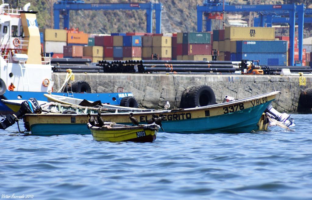 Puerto de Valparaiso - Chile
