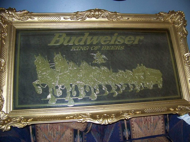 Budweiser Mirror Flickr Photo Sharing