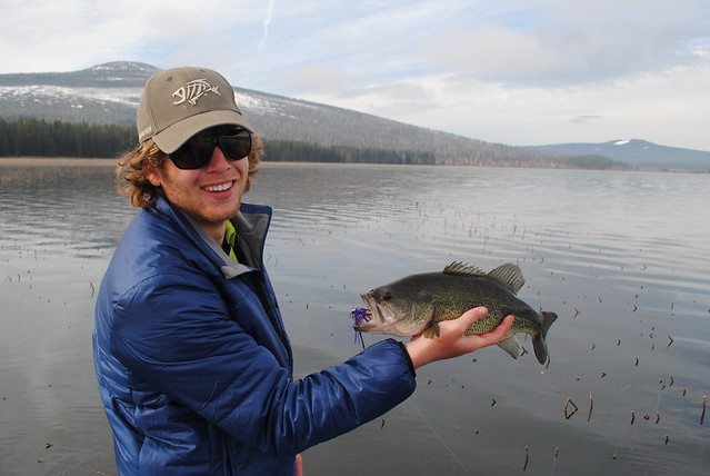 Davis lake fly fishing for bass report the caddis fly for Fishing report oregon