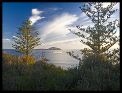 MS Europa, Norfolk Island Small