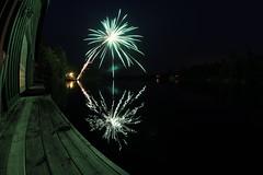 Fireworks in Muskoka by patrickkitch