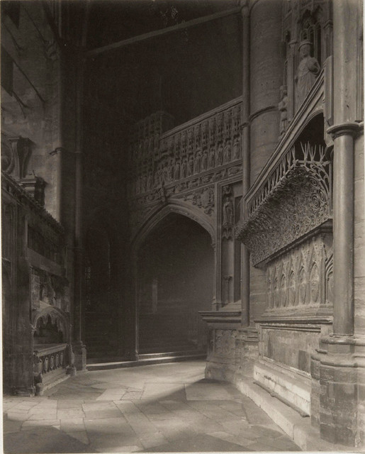 Westminster Abbey, East End, North Ambulatory, by Frederick H. Evans 1911