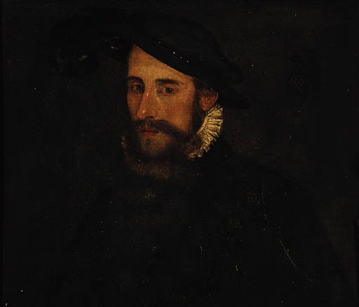 Detail of a portrait of Edward Seymour, duke of Somerset