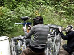 shooting, sports, recreation, outdoor recreation, team sport, games, paintball,