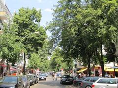 Trendy Friedrichshain neighborhood