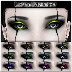 Lacuna Eyeshadow for WGF 2014