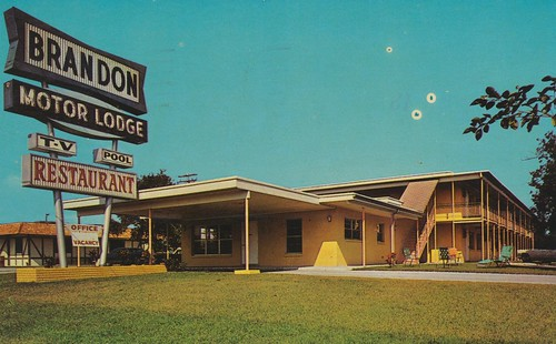 the cardboard america motel postcard archive brandon
