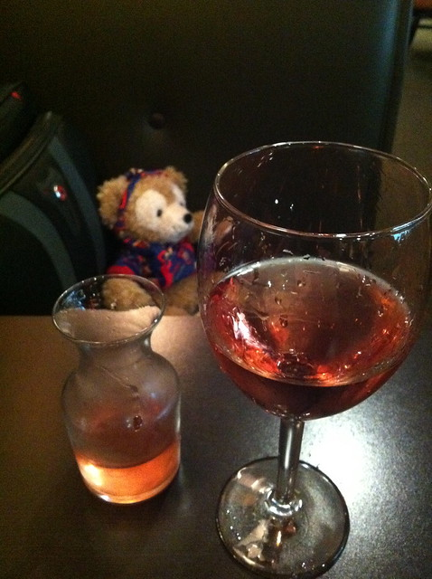 Duffy Relaxes at MCO