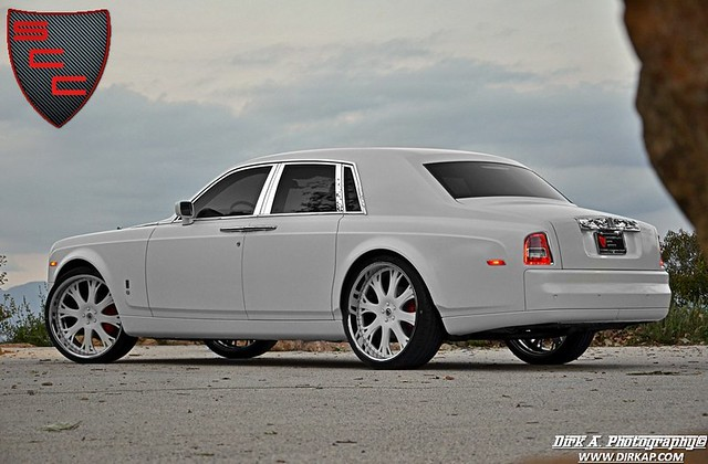 Specialty car craft the first matte white rolls royce phantom in the