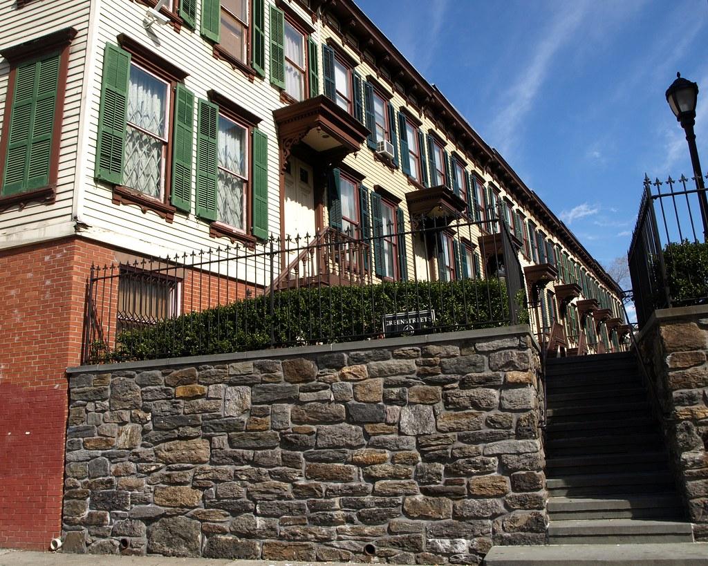 Sylvan Terrace Row Houses, Washington Heights, New York City