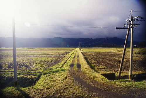 road storm japan countryside nikon country 日本 kumamoto kyushu nachosan 九州 熊本市