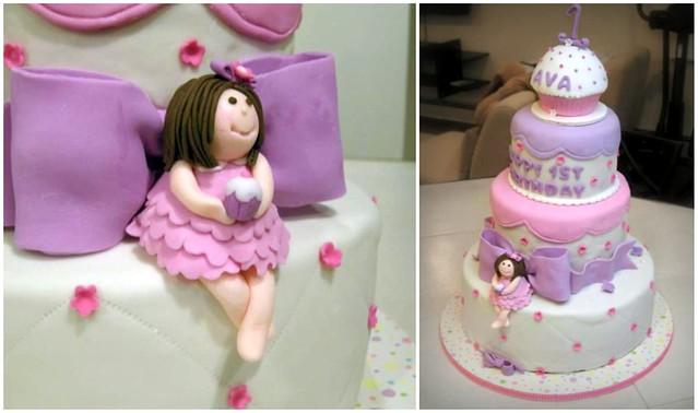 girls 1st birthday cake flickr photo sharing