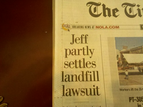 Jeff partly settles landfill lawsuit
