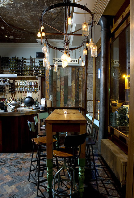 Restaurant bar design awards stravaigin glasgow