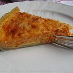 Karotten-Cheddar Tarte mit Fenchelsamen