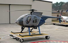 South Carolina Law Enforcement Division MD 500E Helicopter