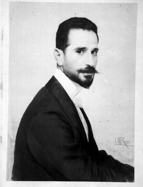 Christian Meyer Ross portrait