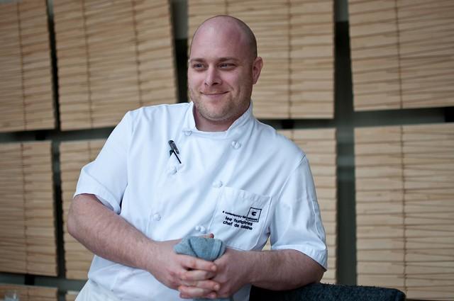 Lee Humphries, Chef de Cuisine