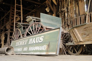 20110416 Henry Haus Blacksmith and  Wagonmaker